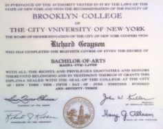 mid-august 1973 BC diploma