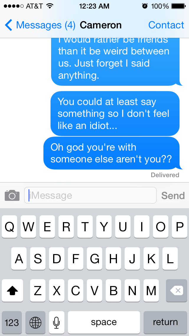 Heres What It Feels Like When Your Crush Doesnt Respond