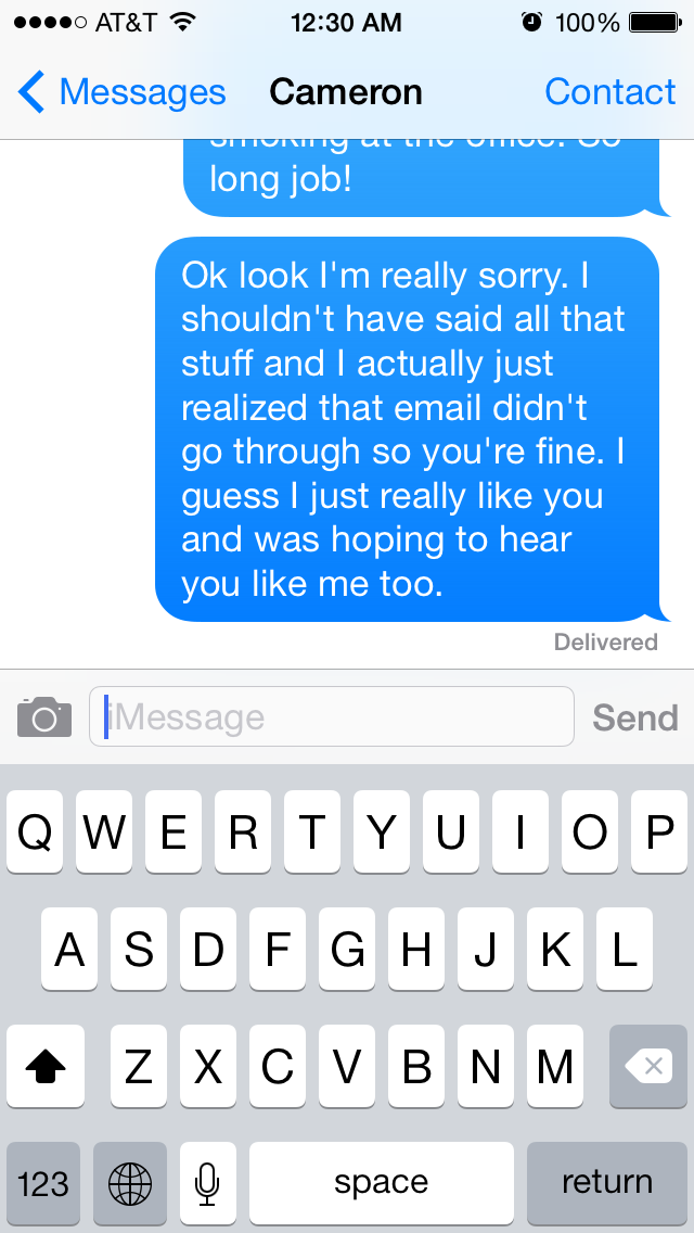 What It Feels Like When You Don't Get A Response To A Text From Your Crush