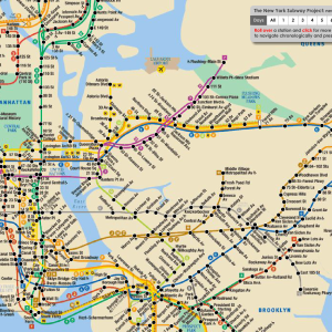 Stop What You're Doing And Check This Interactive NYC Subway Map Out