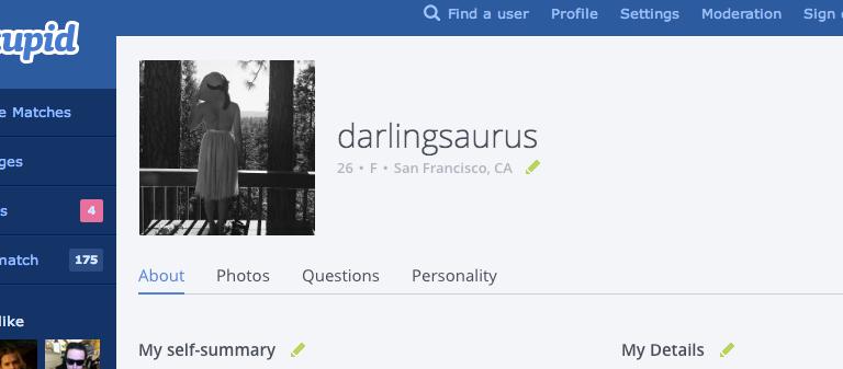 What An Honest OKCupid Account LooksLike