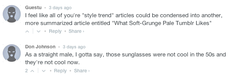 """from """"The Style Trend You Should Be Obsessing Over: Cat Eye Sunglasses."""""""