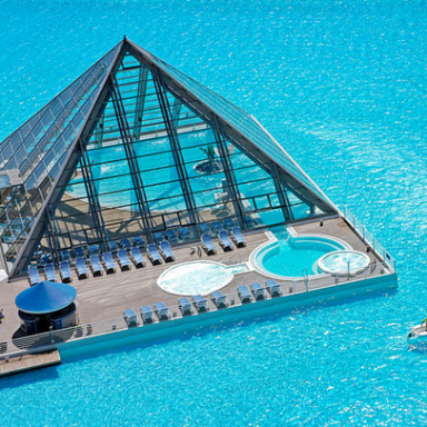 Behold The World's Largest Swimming Pool, And Weep With Jealousy