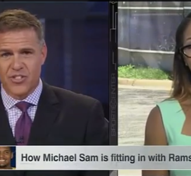 ESPN Is Fixated On Which NFL Teammates Will Shower With Michael Sam. Here's Why It's Wrong