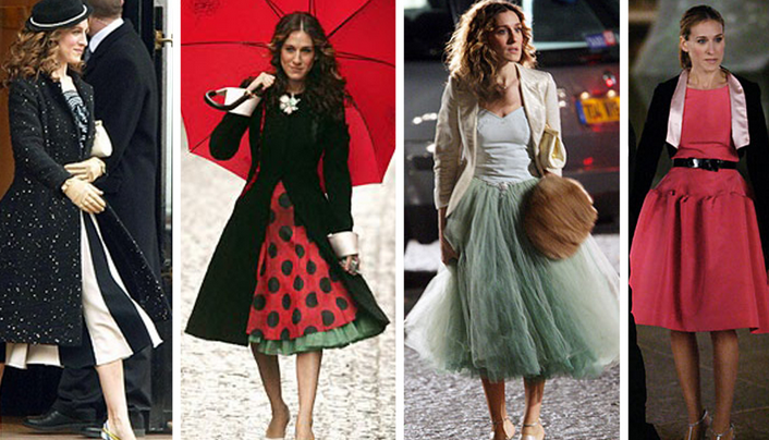 The 23 Cutest Outfits Ever On Sex And The City