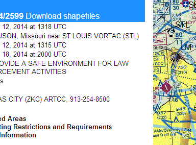 FAA Shuts Down Ferguson Airspace, Effectively Blocking Aerial Press Coverage Of Mike Brown Protests