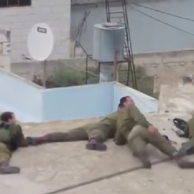 Random Video Shows The IDF Shooting Some People, Possibly Kids, And Laughing About It