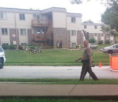 Tweets (And Pics) From A Man Witnessing Mike Brown's Shooting As It Happened