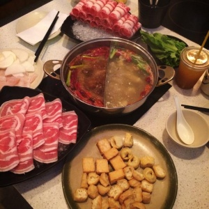 Eating Hot Pot With My Father