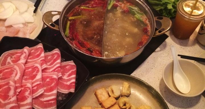 Eating Hot Pot With MyFather