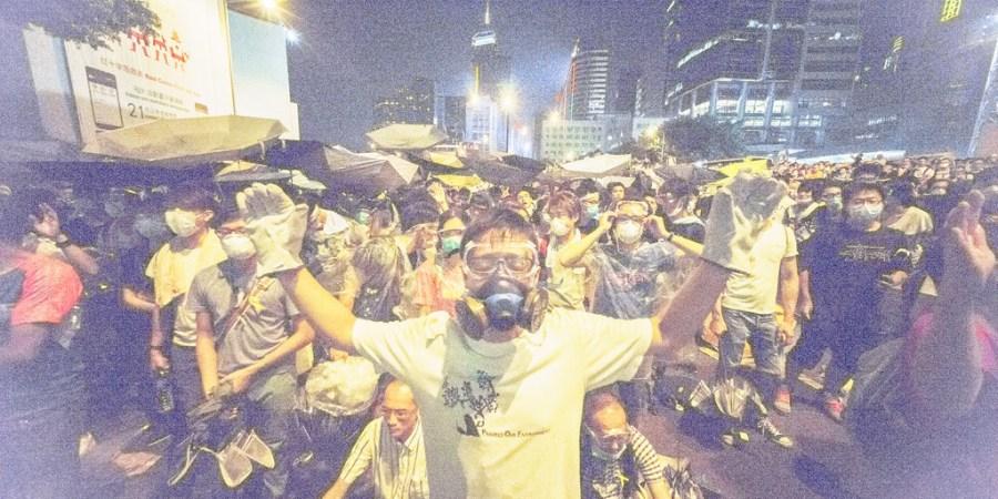 Live: Hong Kong's Pro-Democracy Protest IsHuge!