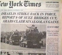 1973 early october NYT War in Mideast