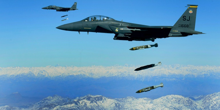 Tonight We Started Bombing Syria, Here's What You Need ToKnow