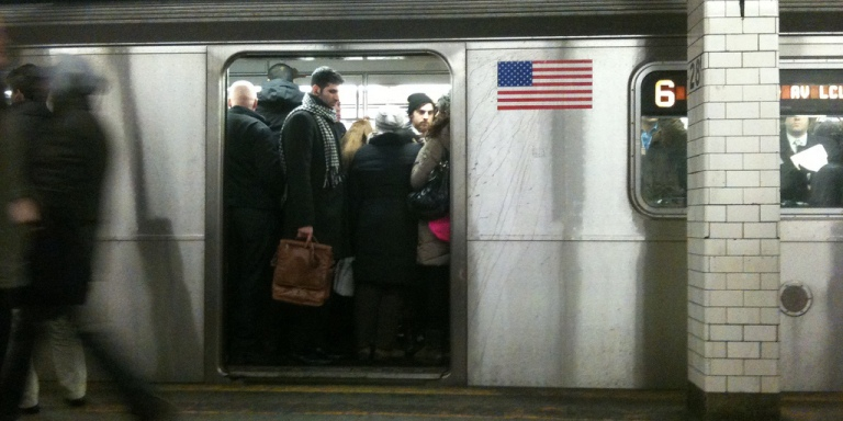 Riding The Subway Is Like Getting AJob