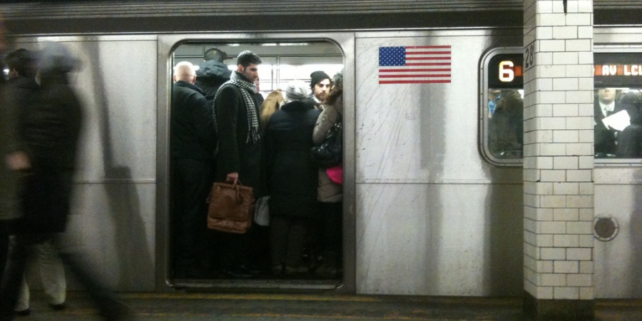 Riding The Subway Is Like Getting A Job
