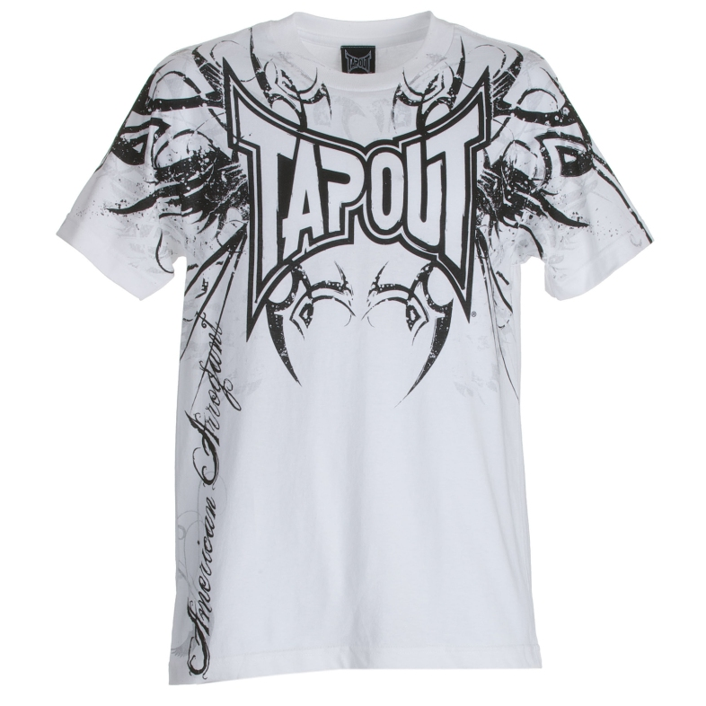 Tapout Men's Logo T-Shirt Short Sleeve Crewneck Tee MMA