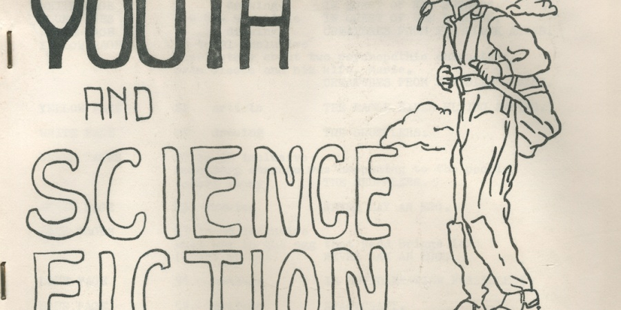 The Tattooed Dragon Meets The Wolfman: Lenny Kaye's Science FictionFanzines