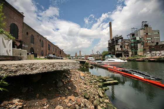 The Brooklyn Waterfront has been used as a dumping ground for unwanted land uses