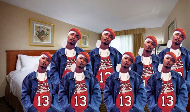 Just How Big Was Chingy's Room He Raps About In HolidaeInn?