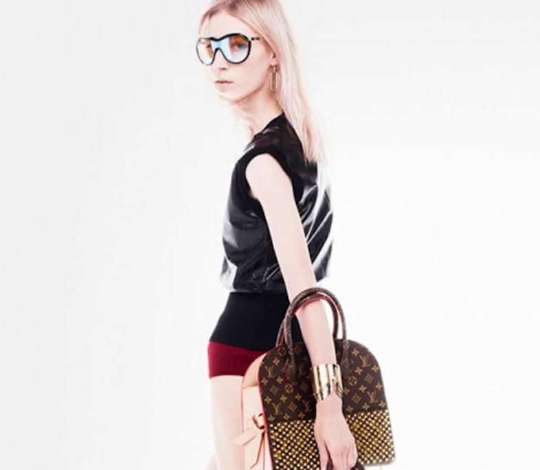 Louis Vuitton Iconoclasts campaign shot by Steven Meisel.
