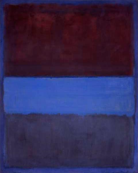 Mark Rothko - No. 61 (Rust and Blue)