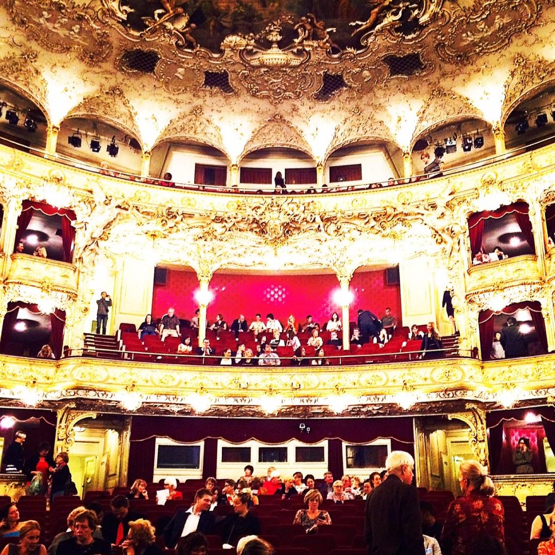 The stunning State Opera in Prague. Photo by Katie Devine.