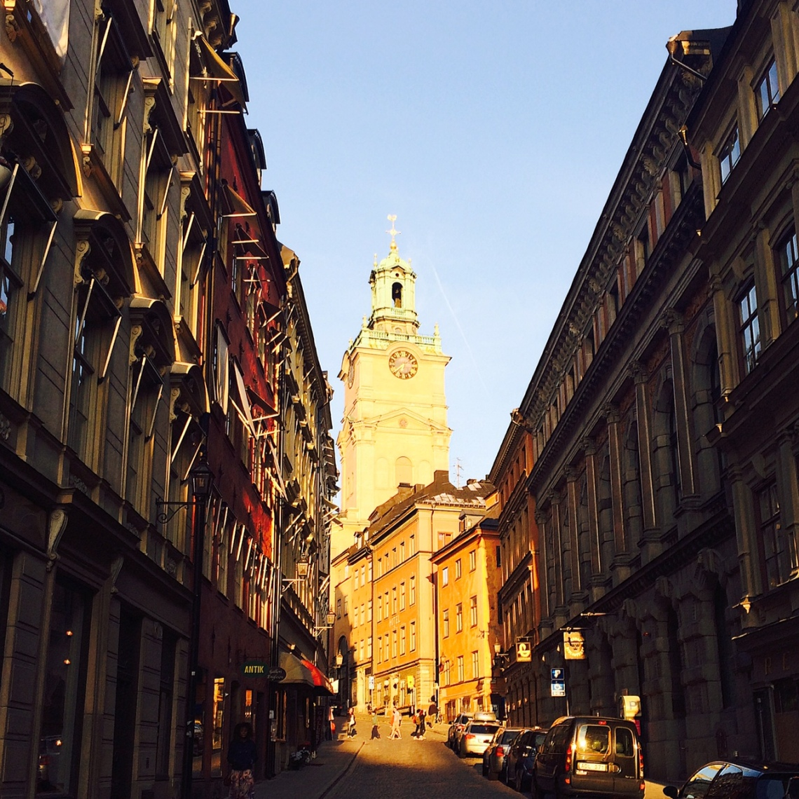 Beautiful Stockholm at sunset. Photo by Katie Devine.