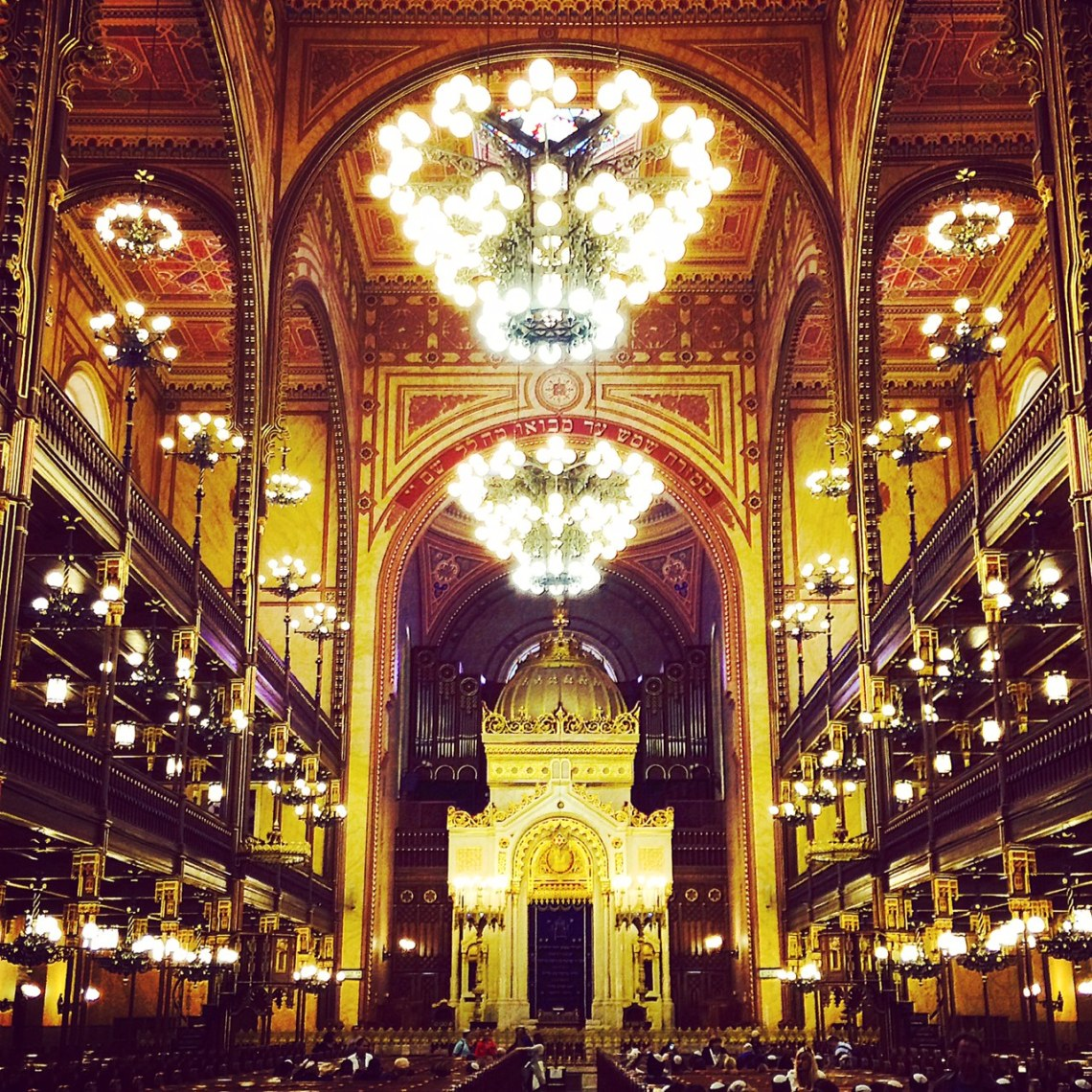 The Dohány Street Synagogue in Budapest. Photo by Kate Devine.