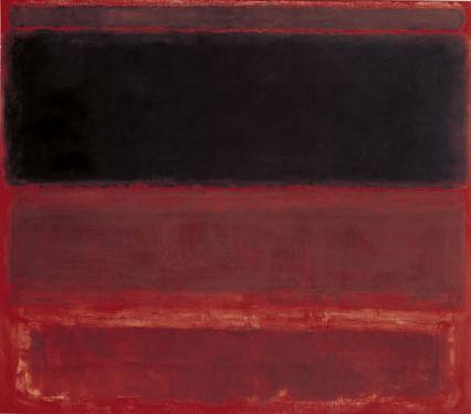 Mark Rothko - Four Darks in Red