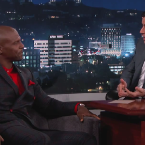 Terry Crews Reveals His 'Other Side' On Jimmy Kimmel Live And It's Not What You'd Expect