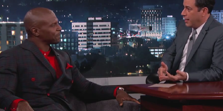 Terry Crews Reveals His 'Other Side' On Jimmy Kimmel Live And It's Not What You'dExpect