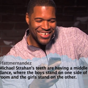 Michael Strahan And Erin Andrews Win The Newest Edition Of Jimmy Kimmel's Mean Tweets
