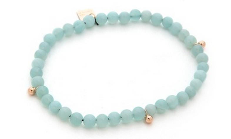 Elastic Amazonite Bracelet.