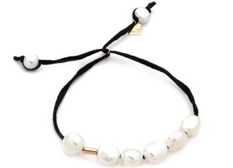 Pearl Cotton Bracelet.