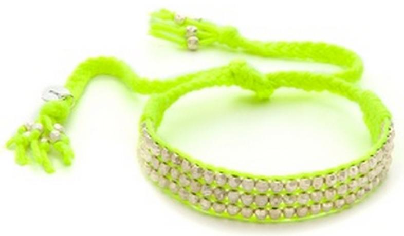 Beaded Woven Bracelet.