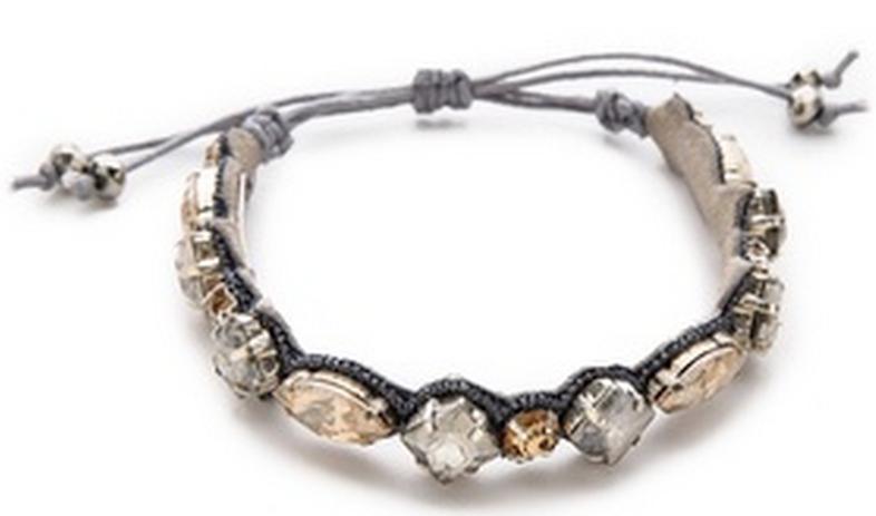 Crystal Encrusted Bracelet.