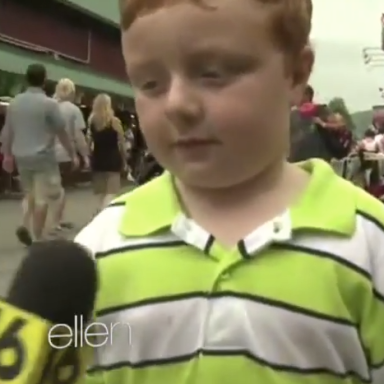 Apparently, This Kid Is Cute Enough To Get On Ellen's Show