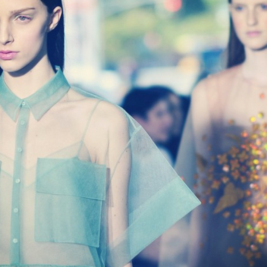The Style Trend You Should Be Obsessing Over: Sheer, Without Slips