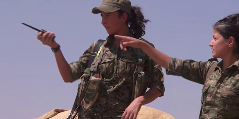 ISIL's Hatred Of Women Sets Kurdish Heroines ToWar