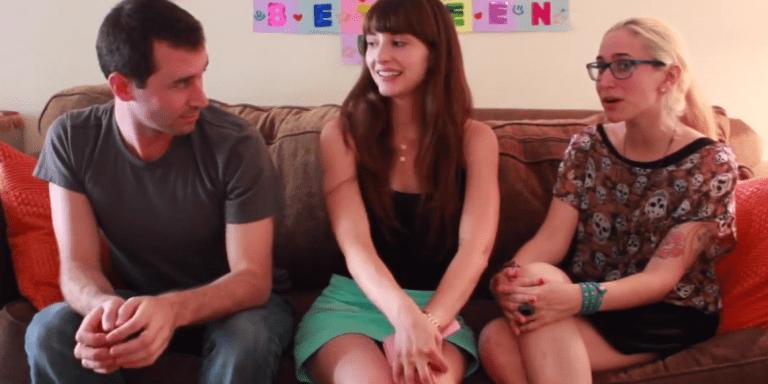 Gaby Dunn And Allison Raskin Meet James Deen And It Gets Awkward FromThere