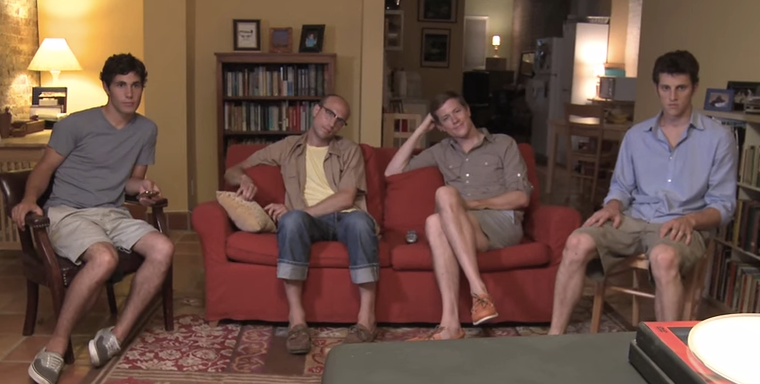 A Really Cute Group Of Boys Act Like Girls And It's Hilariously Sad AndTrue