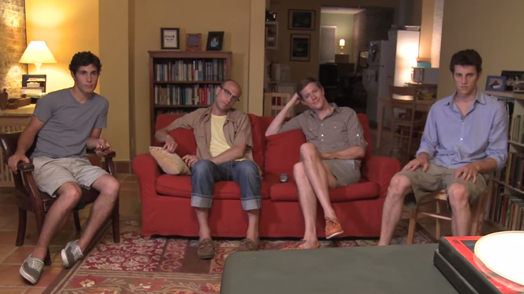 A Really Cute Group Of Boys Act Like Girls And It's Hilariously Sad And True