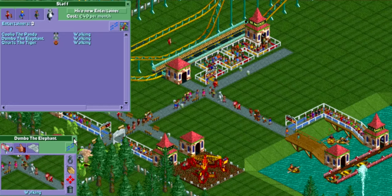 I Really Want To Play RollercoasterTycoon