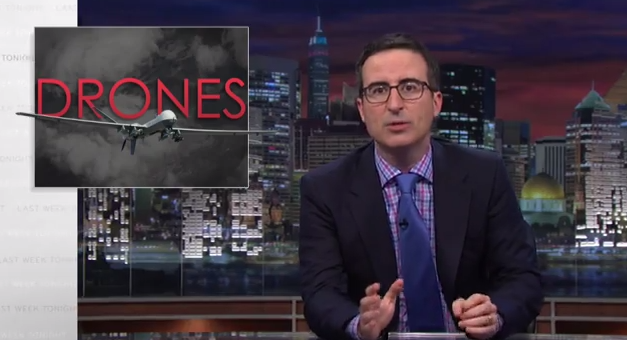 Watch: John Oliver Explains What's Wrong With How The United States UsesDrones