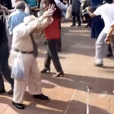 Watch This Old Man Dance And Turn Down For Nothing