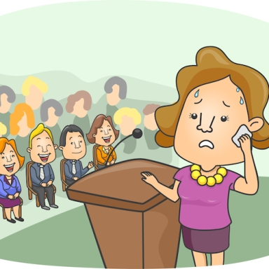 10 Stages Of Agony In A Day of Public Speaking