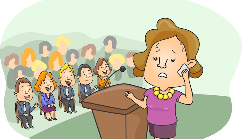 10 Stages Of Agony In A Day of PublicSpeaking