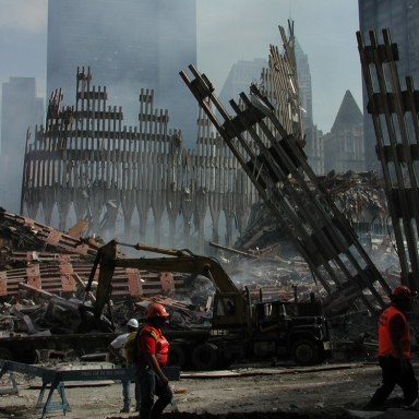 The Heroes of 9/11 That Weren't At The World Trade Center
