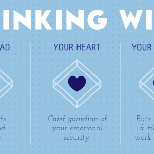 The Differences Between Thinking With Your Head, Your Heart And Your Private Parts