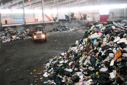 A Waste Transfer Station in NYC